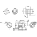 Audiocore DH0112 Grille Fastener