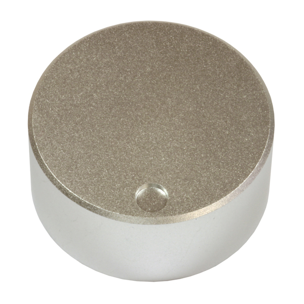 Knob Audiocore A Kn004 Silver for potentiometers/selectors